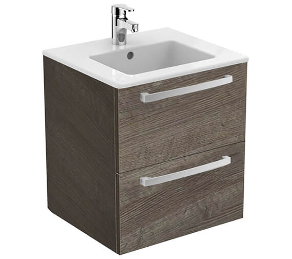 Ideal Standard Tempo Wall Mounted 2 Drawers Vanity Unit