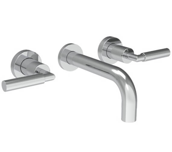 Saneux Tempus 3 Hole Wall Mounted Basin Mixer Tap