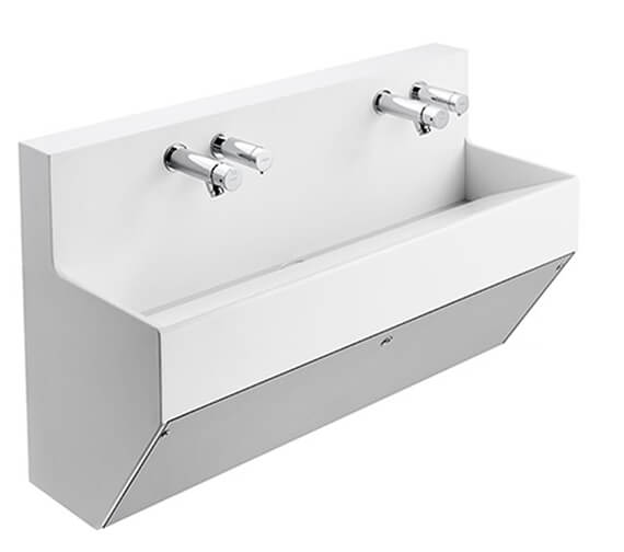 Armitage Shanks Contour 21 Splash Wall Hung Wash Trough - Un Drilled
