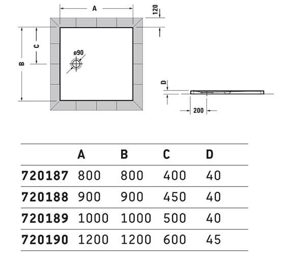 Technical drawing QS-V42569 / 720187000000000