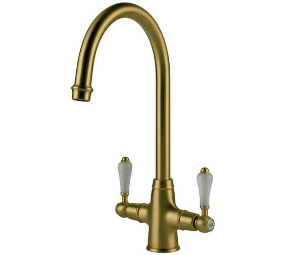 Additional image of Clearwater Elegance C Twin Lever Monobloc Kitchen Sink Mixer Tap