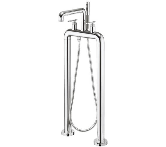 Crosswater Union Free Standing Bath Filler And Shower Kit
