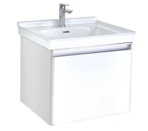 Phoenix Fonte Wall Hung Vanity Unit And Basin