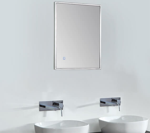 Phoenix Bordo LED Back Lit Mirror With Heated Demister Pad