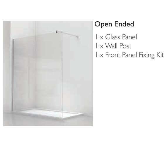 Alternate image of Kudos Ultimate Black Flat Glass Corner Pack