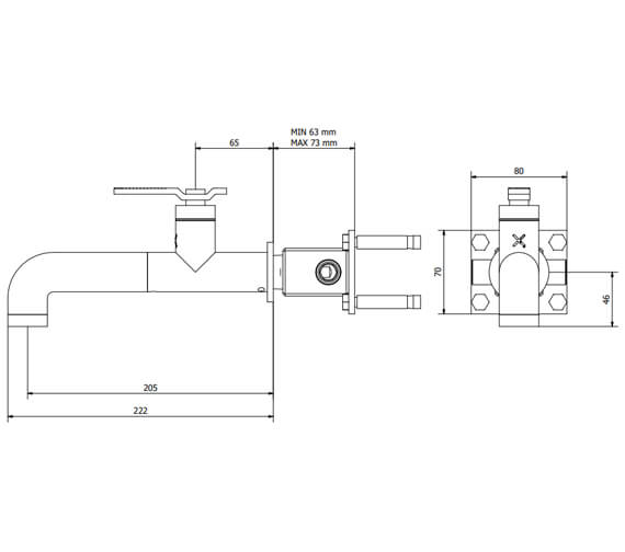 Technical drawing QS-V102476 / UB111WNC