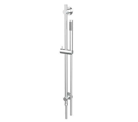 Saneux Round Monofunction Shower Slide Rail Kit With Concealed Outlet