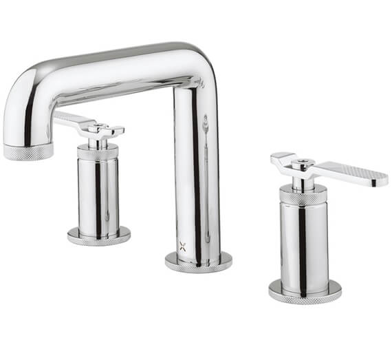 Crosswater Union Deck Mounted 3 Hole Basin Mixer Tap
