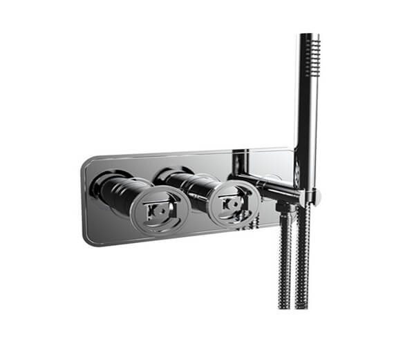 Crosswater Union Thermostatic Shower Valve With 2 Way Diverter And Handset