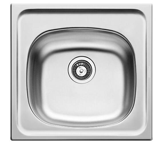 Clearwater E33 465 x 435mm Single Bowl Kitchen Sink