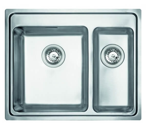 Clearwater Bella 625 x 520mm 1.5 Bowl Kithcen Sink