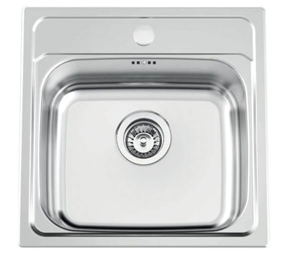 Clearwater Bar47 480 x 480mm Single Bowl Kitchen Sink