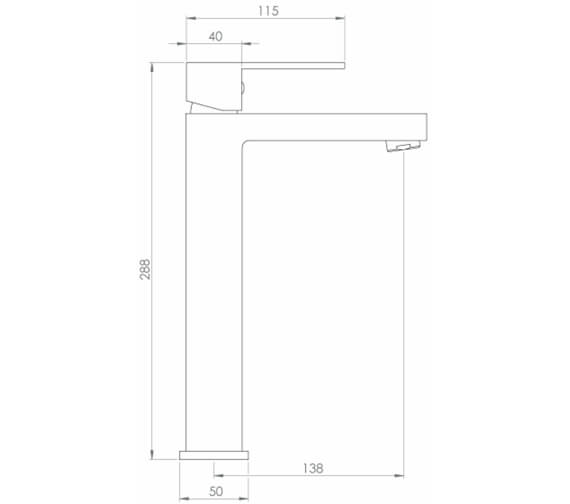 Technical drawing QS-V102263 / TO201
