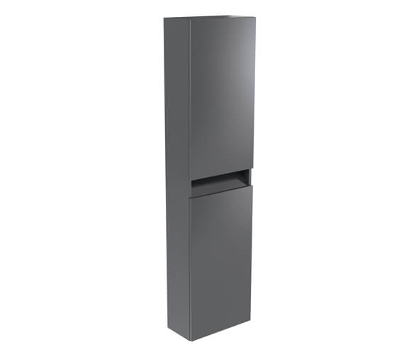 Kartell K-Vit Ikon Wall Mounted 2-Door Tall Storage Unit 400 x 1600mm