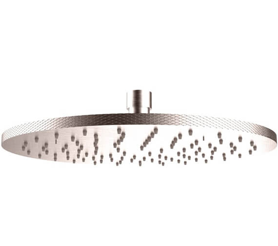 Additional image of Crosswater Union Wall Mounted 250mm Round Showerhead
