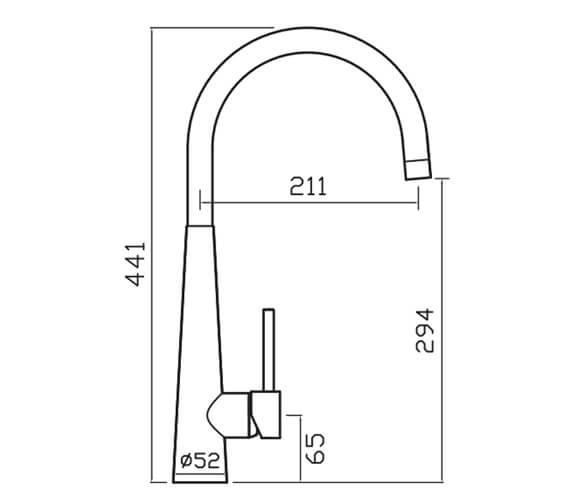 Technical drawing QS-V102371 / PO2CP