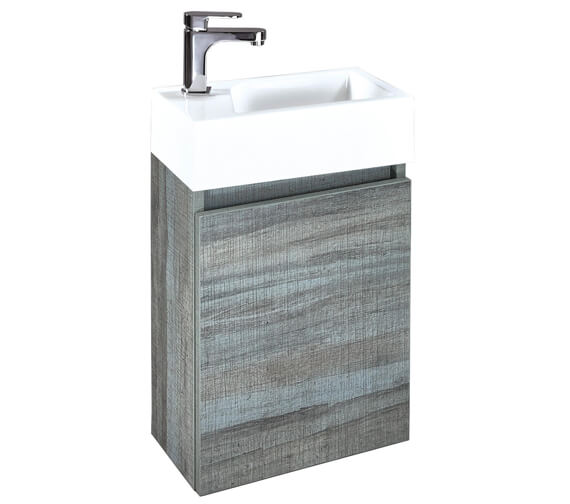 Additional image of Phoenix Verve 400mm Vanity Unit And Mineral Cast Basin