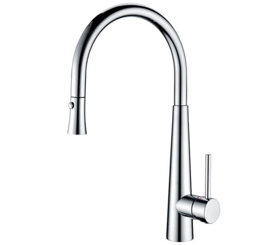 Clearwater Porrima C Monobloc Pull-Out Kitchen Sink Mixer Tap