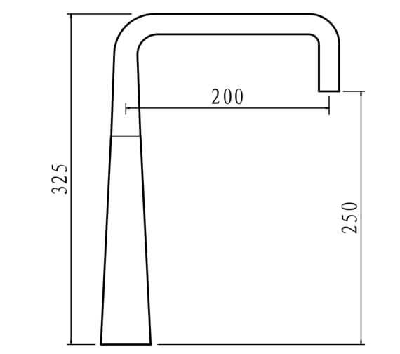 Technical drawing QS-V102372 / PO4CP