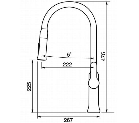 Technical drawing QS-V102373 / TA2CP