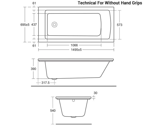Technical drawing QS-V96082 / E155201
