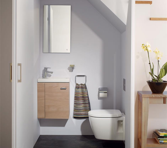Ideal Standards Concept Space 450mm Wall Hung Unit With Guest Washbasin