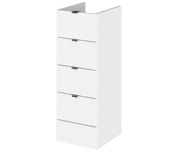 Hudson Reed Fusion 300 x 355mm Full Depth 4 Drawer Unit