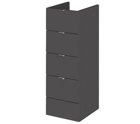 Alternate image of Hudson Reed Fusion 300 x 355mm Full Depth 4 Drawer Unit
