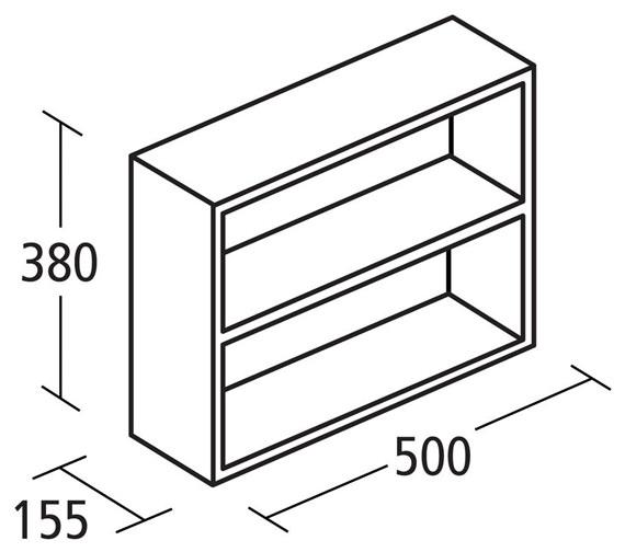 Technical drawing QS-V89411 / E1435WG