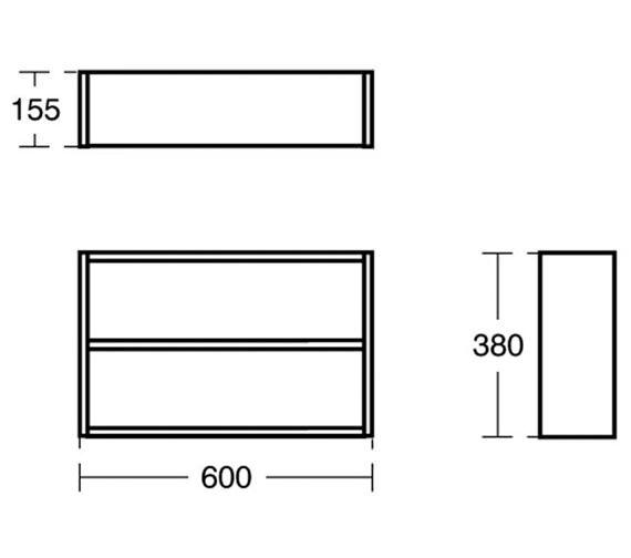 Technical drawing QS-V89412 / E0374WG