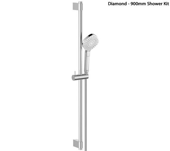 Alternate image of Ideal Standard Idealrain Evo Shower Kit With 3 Function Handset