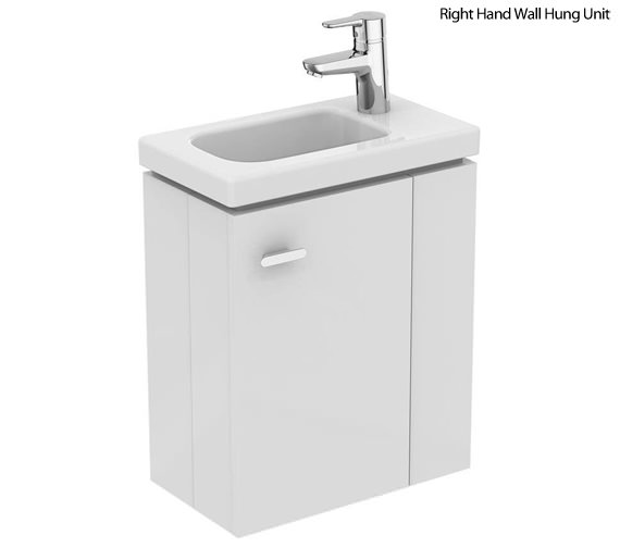 Additional image of Ideal Standards Concept Space 450mm Wall Hung Unit With Guest Washbasin