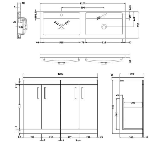 Technical drawing QS-V42487 / ATH025C