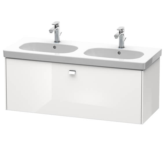 Alternate image of Duravit Brioso Wall Mounted 1170mm 1 Drawer Vanity Unit For D-Code Basin