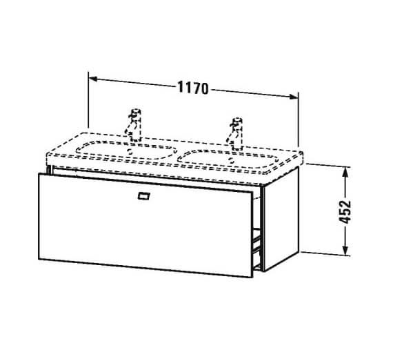 Technical drawing QS-V100502 / BR404801818