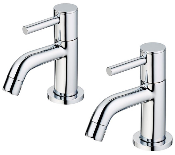 Ideal Standard Ceraline Pair Of Basin Pillar Taps