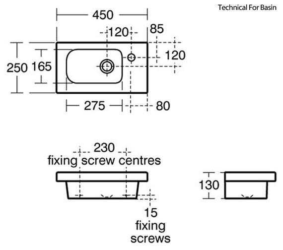 Technical drawing QS-V89415 / E1438WG|E133501