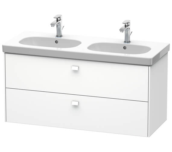 Duravit Brioso Wall Mounted 1170mm 2 Drawer Vanity Unit For D-Code Basin