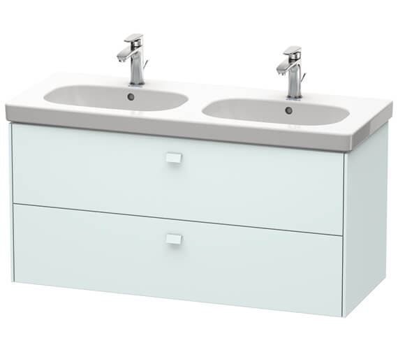 Additional image of Duravit Brioso Wall Mounted 1170mm 2 Drawer Vanity Unit For D-Code Basin