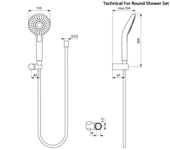 Technical drawing QS-V96119 / B2404AA