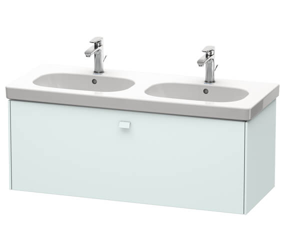 Additional image of Duravit Brioso Wall Mounted 1170mm 1 Drawer Vanity Unit For D-Code Basin