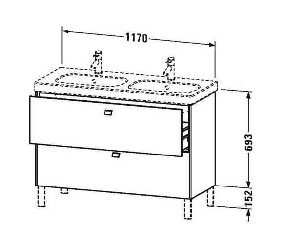 Technical drawing QS-V100504 / BR442801818