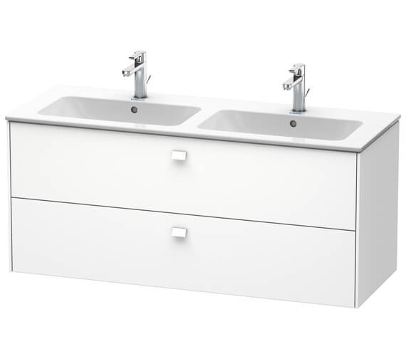 Duravit Brioso Wall Mounted 1290mm 2 Drawer Vanity Unit For ME by Starck