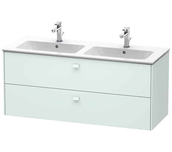 Additional image of Duravit Brioso Wall Mounted 1290mm 2 Drawer Vanity Unit For ME by Starck