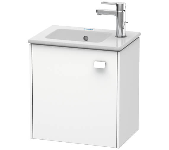 Duravit Brioso Wall Mounted 1 Door Vanity Unit For ME by Starck Basin