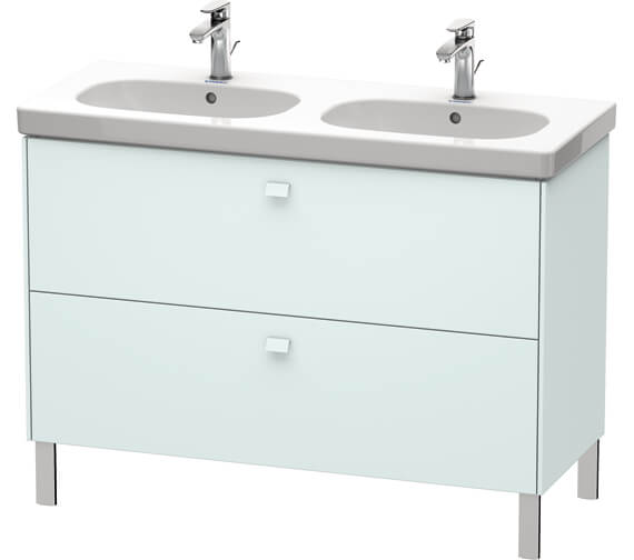Additional image of Duravit Brioso Floor Standing 1170mm 2 Drawer Vanity Unit For D-Code Basin