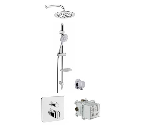 VitrA 2 Way Suit Shower Set With Style X Handshower And Lite Showerhead