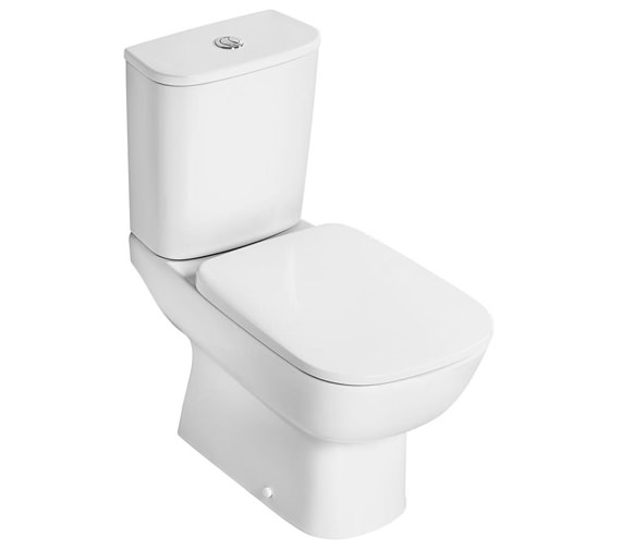 Ideal Standard Studio Echo Closed Coupled WC Pan With Horizontal Outlet