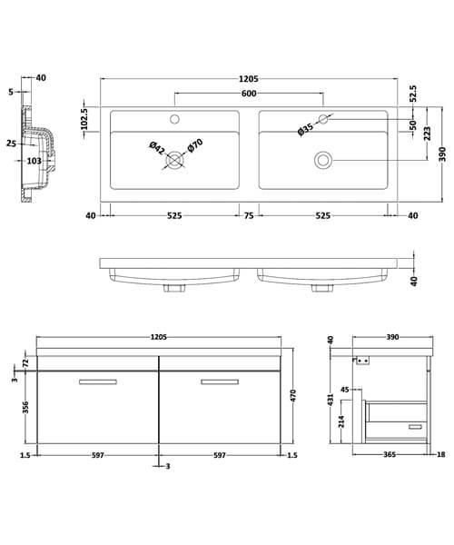 Technical drawing QS-V42489 / ATH036C