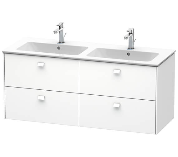 Duravit Brioso Wall Mounted 1290mm 4 Drawer Vanity Unit For ME by Starck
